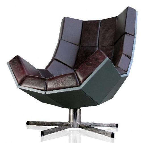 Moderner cooler Schreibtisch Sessel Design - es ist Zeit für Arbe