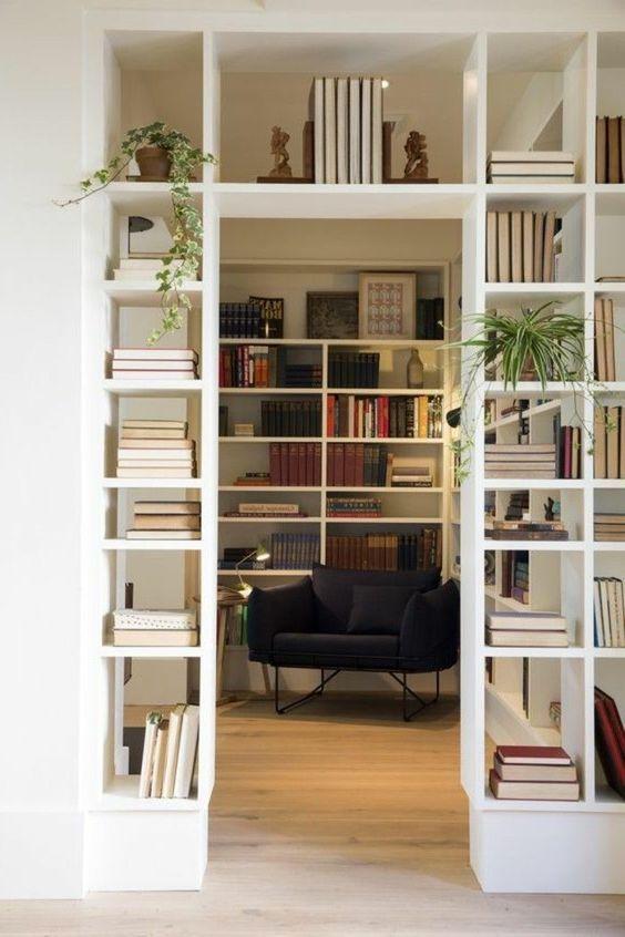 Corner Bücherregale