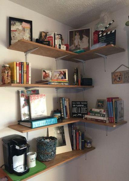 Schlafzimmer Organisation Bücherregal Gästezimmer 55+ Trendy Ideas .
