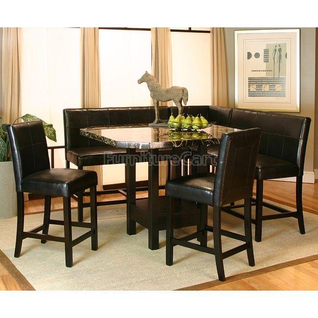 Chatham Counter Height Corner Dining Nook Set | Corner dining .