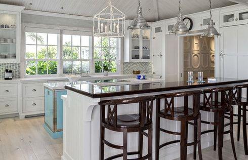 Beach Cottage Küche Dekor! Entdecken Sie die besten Hüttenküchen .