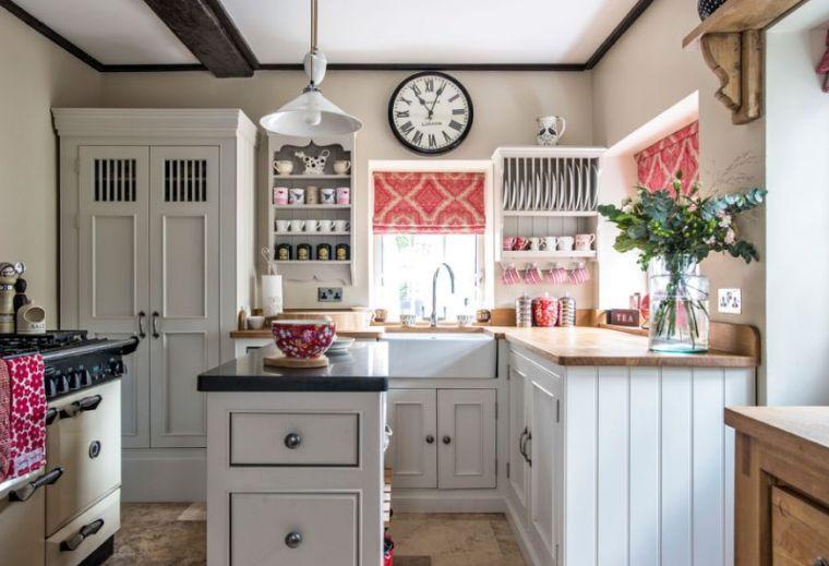 Cottage-Küche: Erliegen Sie dem Charme des englischen Stils .