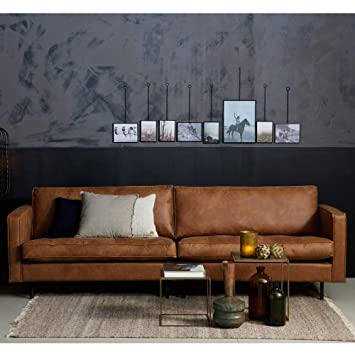 3 Sitzer Sofa RODEO CLASSIC Echtleder Leder Lounge Couch Ledersofa .