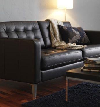 Inspirierende Ikea Sofa Leder Leder Ikea Karlstad Ich, Wie Der .