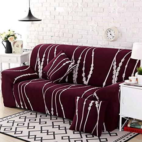 Amazon.de: Sofabezug Elastisch Schonbezug Polyester Multifunktion .