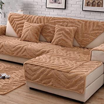 ZY Sofatuch Plüsch-/Sofaschutz,Multi-Size/Sofabezug .