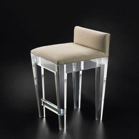 White Leather Counter Height Bar Stools | Barstühle, Barhocker und .