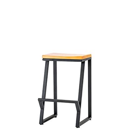 Amazon.de: LIU RUOXI Counter Height Barhocker, Retro Iron Art .