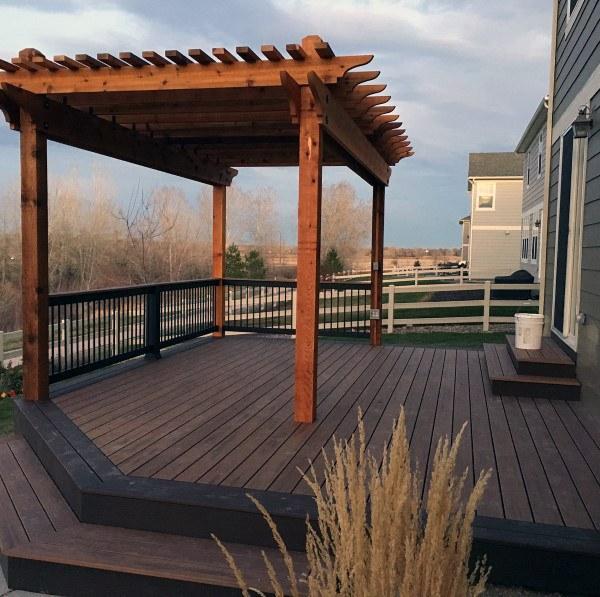 Najlepšie 60 poschodí na palube Ideen - Holz a Composite .