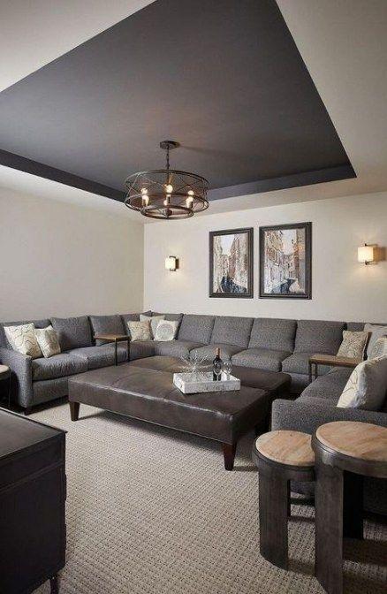 Living room dark carpet ceilings 27 ideas for 2019, #Carpet .