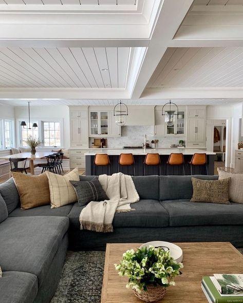 30+ ungewöhnliche Deckenentwürfe Ideen für Wohnzimmer (mit Bildern .