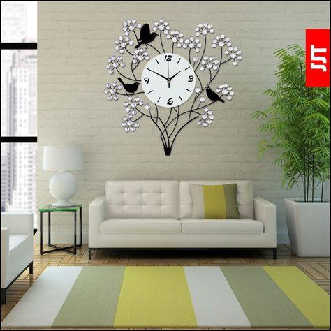 Einzigartige Dekorative Wanduhren für das Wohnzimmer | Wanduhren .
