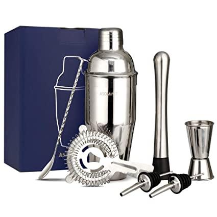 Amazon.de: Manhattan 750ml Cocktail Shaker Set rostfreier .