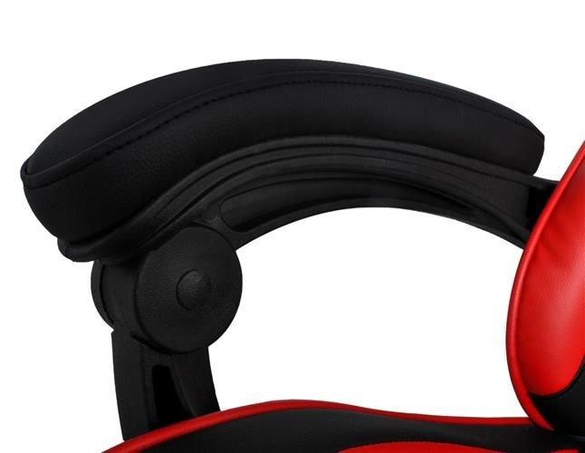 Black & Red Player Bucket Gaming Drehbarer Bürostuhl 8979 .