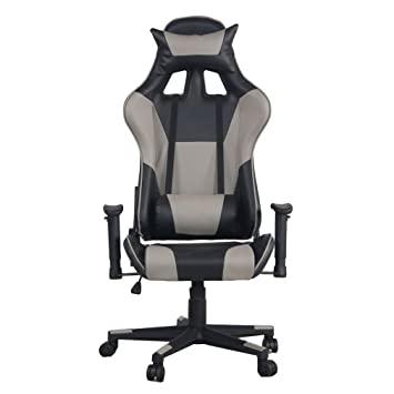 360 Grad Gaming Stuhl Drehgelenk formschön Leder Bürostuhl Hohe .