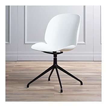 Amazon.de: Chairs Barhocker mit Kunststoff Rückenlehne 360 Grad .
