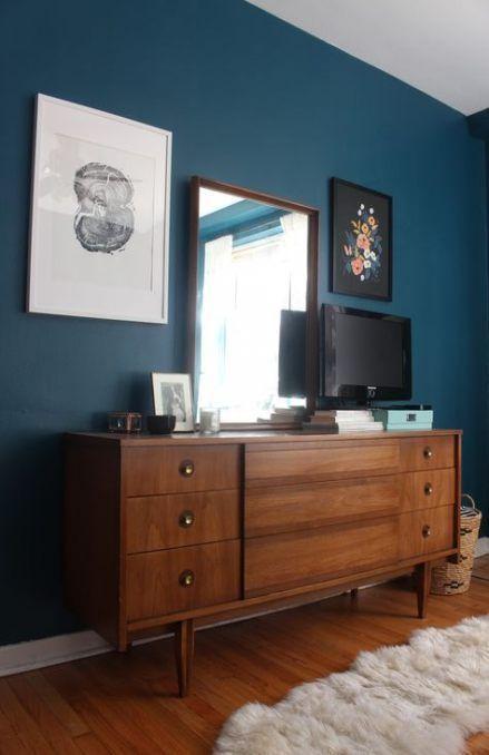 boho wohnzimmer wandfarbe in 2020 (mit Bildern) | Blaue wohnzimmer .