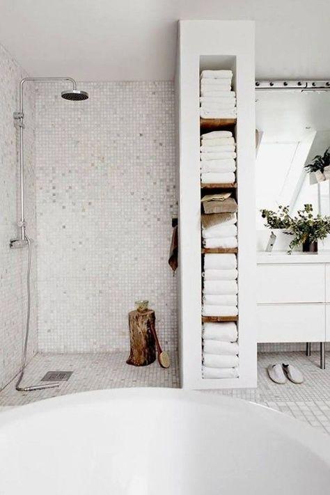 Duschraum Design | Badezimmer renovieren, Badezimmer mit dusche .