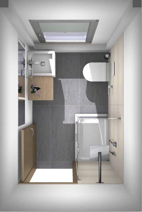 Dusche in gäste-wc von banovo gmbh in 2020 | Moderne kleine .