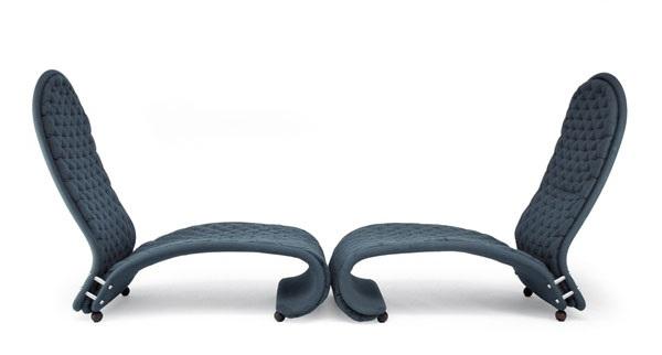 Sessel Easy Chairs G pair by Verner Panton on artn