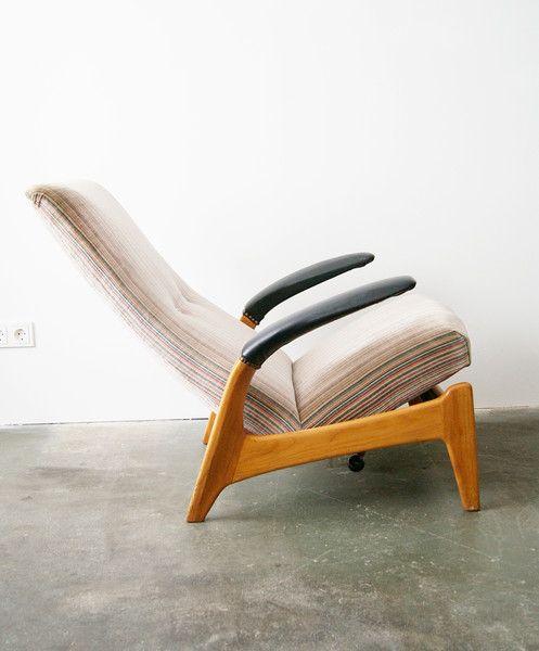 Vintage Sessel - 60s Sessel, scandinavian Rock´n Rest Easy Chair .