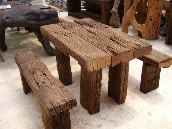Echtholzmöbel - nachhaltig und praktisch schön | Echtholz möbel .