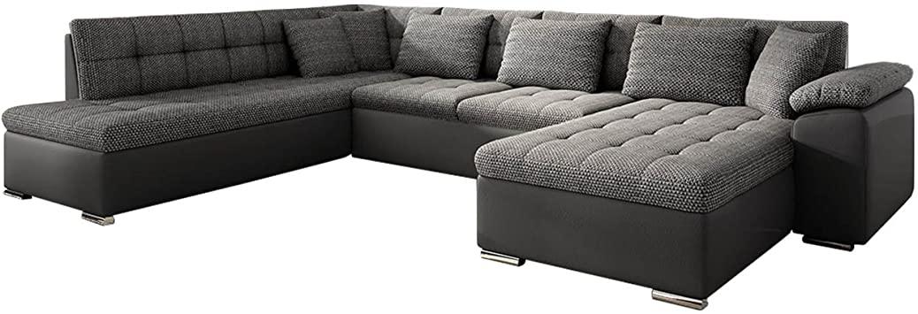 Eckcouch Ecksofa Niko Bis! Design Sofa Couch! mit Schlaffunktion .