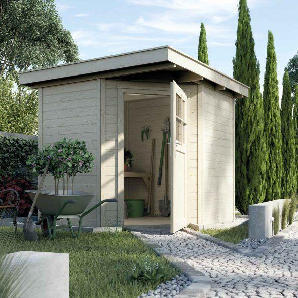 Eckhaus für den Garten