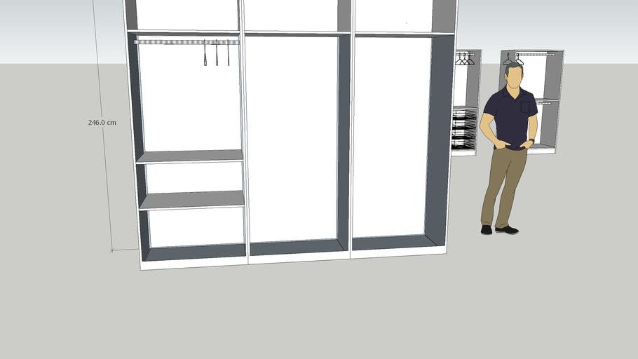 Einbauschrank | 3D Warehou