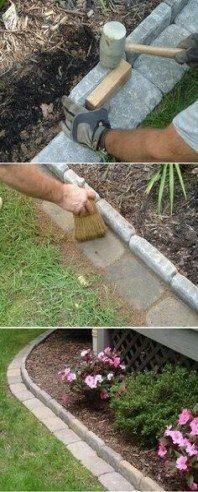 34 Ideen für die Landschaftsgestaltung im Vorgarten wirken einfach .