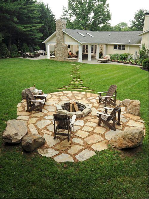 Einfache und einfache Landschaftsgestaltung Ideen und Garten .