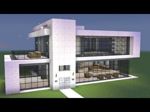 Minecraft einfaches modernes Haus-Design - #einfaches #Hausdesign .