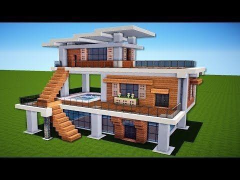 Einfaches modernes Haus-Design, #einfaches #HausDesign #MODERNES .