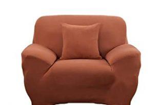 Amazon.de: Einzelschlafcouch Sitzbezug Slipcover Sofa Husse Dekor .