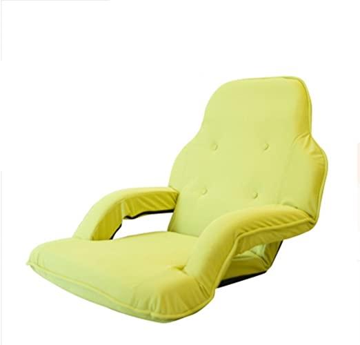 LLKOZZ Sitzsack, mit Armlehnen zusammenklappbar Einzelschlafcouch .