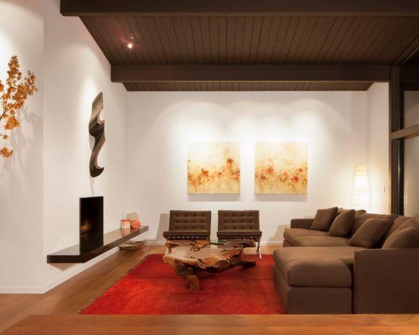 Baumstamm Couchtisch Ideen – einzigartige Möbel für das Wohnzimmer .