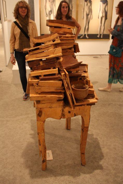 Einzigartige Möbel Ein Highlight auf der Art Basel, Miami Fairs .