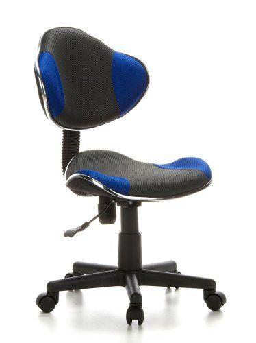 hjh OFFICE 633000 Kinder Schreibtischstuhl KIDDY GTI-2 Stoff Grau .