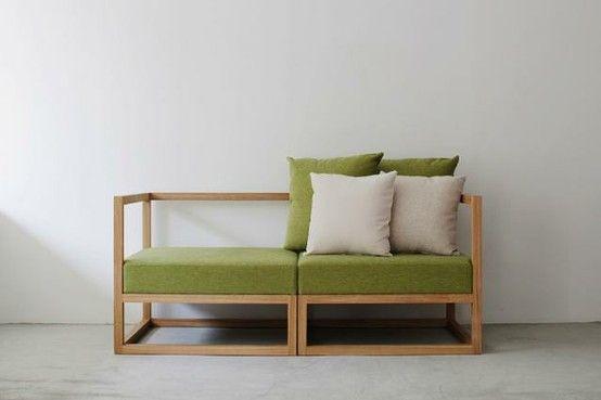 minimalistic sofa   Sofa sessel, Sessel und Sof