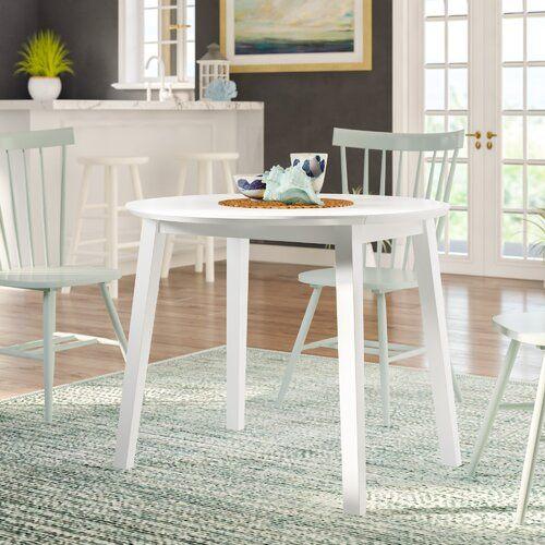 Erweiterbarer Esstisch Inglewood Küstenhaus Farbe: Weiß | Outdoor .