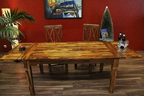 Esstisch, Holz, Erweiterbar, Massiv, 120x80 / 200x80, Küchentisch .