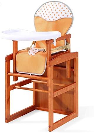 Gangkun Baby Esszimmerstuhl aus massivem Holz multifunktionale .