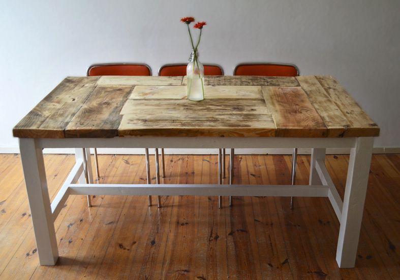 Esstisch aus massivem Holz // Massive wooden dining-table by .