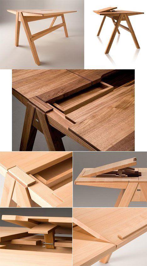 drafting table plans woodworking | Desk furnitu
