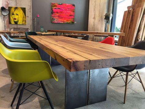 Esstisch Tisch Massivholztisch Holztisch Designtisch Table .