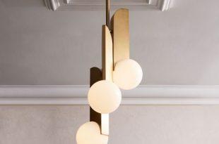 Bower Triple Pendant / west elm | Led chandelier, Modern lighting .