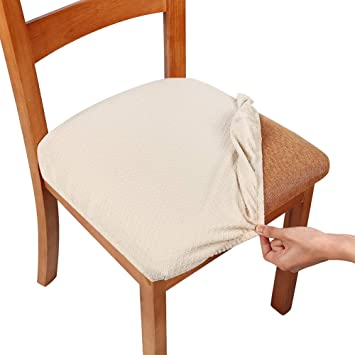 Amazon.de: Homaxy Stretch Spandex Jacquard Esszimmerstuhl .