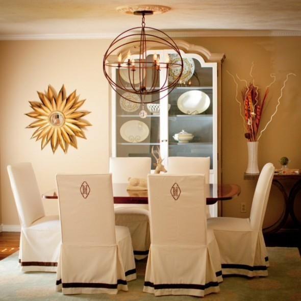Schonbezüge für Esszimmerstühle - 10 #esszimmerstuhle #schonbezuge .
