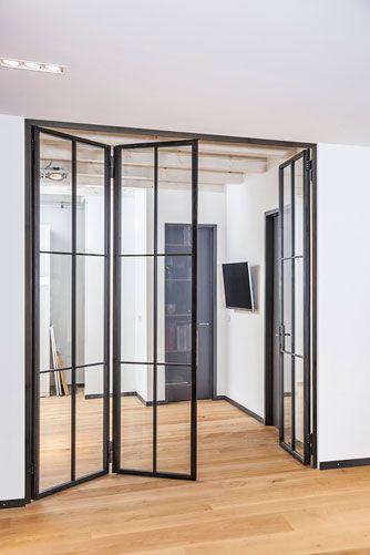 Stahl – Glas – Türen – Stahl-Loft-Türen (mit Bildern) | Glastür .