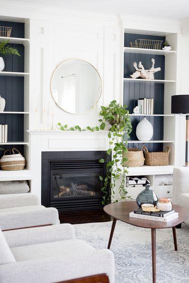 Craftberry Bush | Bloglovin' | Farm house living room, Family room .